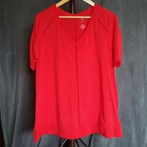 EUC Lane Bryant LIVI Active Red Size 18/20